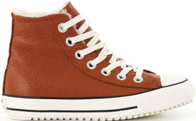 Converse All Star Boot leather cognac - Sneakers - 112870 - 1