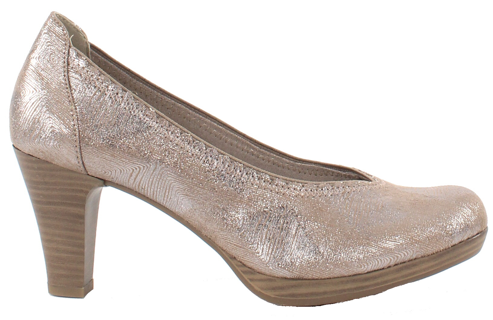 Tamaris Pumps 22448 20 taupe metallic