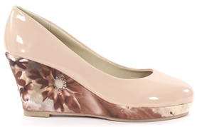 So What Pumps med kilklack 47602239 nude - Pumps och Högklackade skor - 118682 - 1