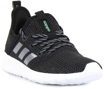 Adidas Löparskor Cloudfoam pure svartgrå Stilettoshop.se
