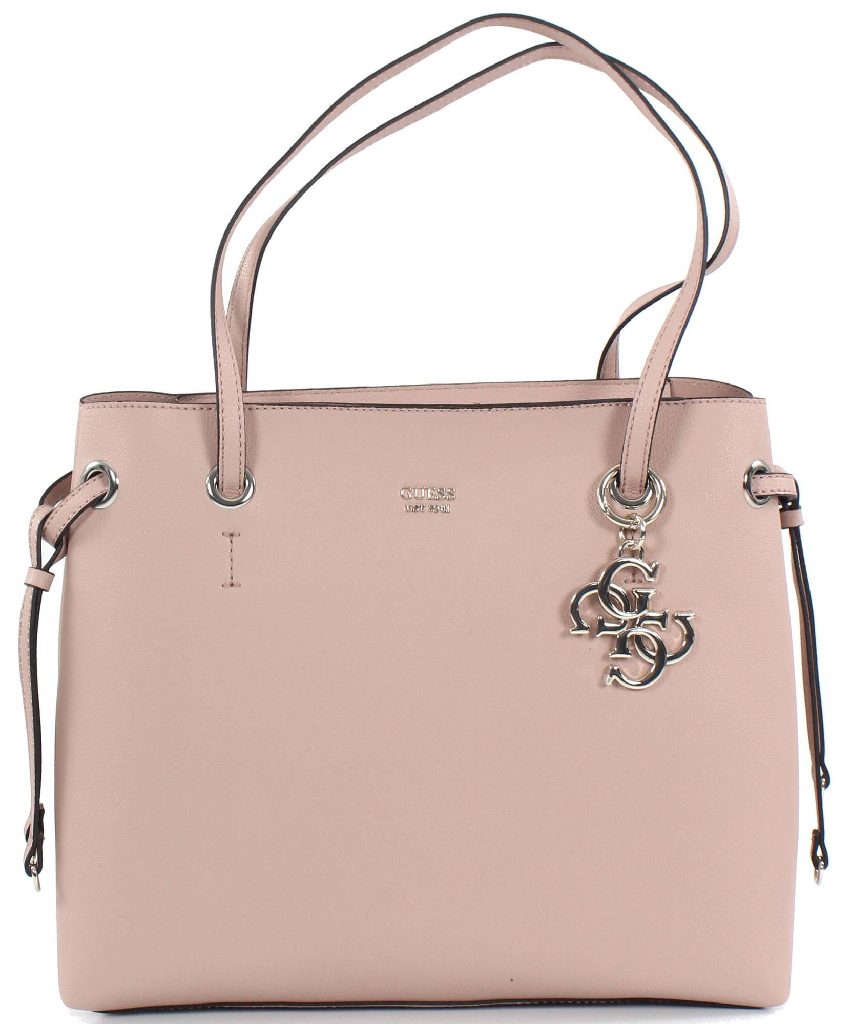 guess väska rosa
