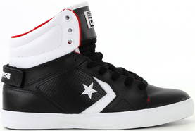 Converse All Star 12 leather mid svart/vit - Sneakers - 112005 - 1