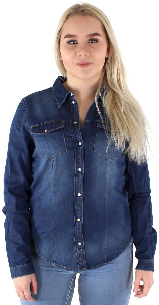 Only Jeansskjorta Rock it - Långärmade skjortor - 117766 - 1 5e5600a230d79
