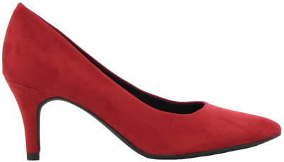 röda pumps skor