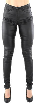 Pieces Leggings Just wear coated svart - Leggings - 116668 - 1