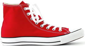 Converse All Star Hi red - Sneakers - 111929 - 1